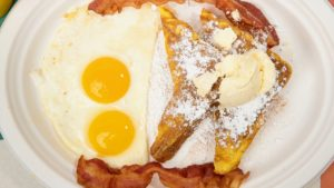 French Toast Or Pancakes Bacon Or Sausage